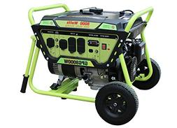 Green-Power America 8000W Portable Gas Powered Generator/Rec