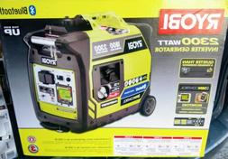 Ryobi Bluetooth 2,300-Watt Super Quiet Gasoline Powered Digi