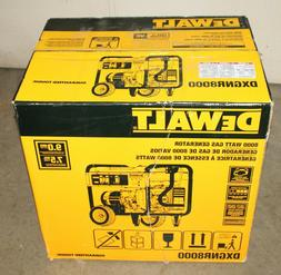 DeWALT DXGNR8000 8,000-Watt Gasoline Powered Electric Start