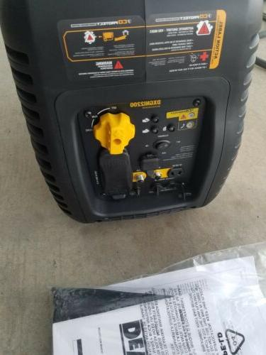DEWALT 2200-Watt Gasoline Powered Portable Inverter Generator