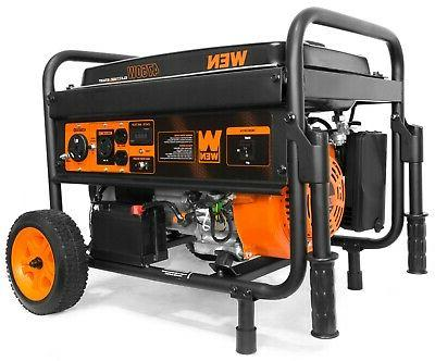 56475 generator with electric start and wheel