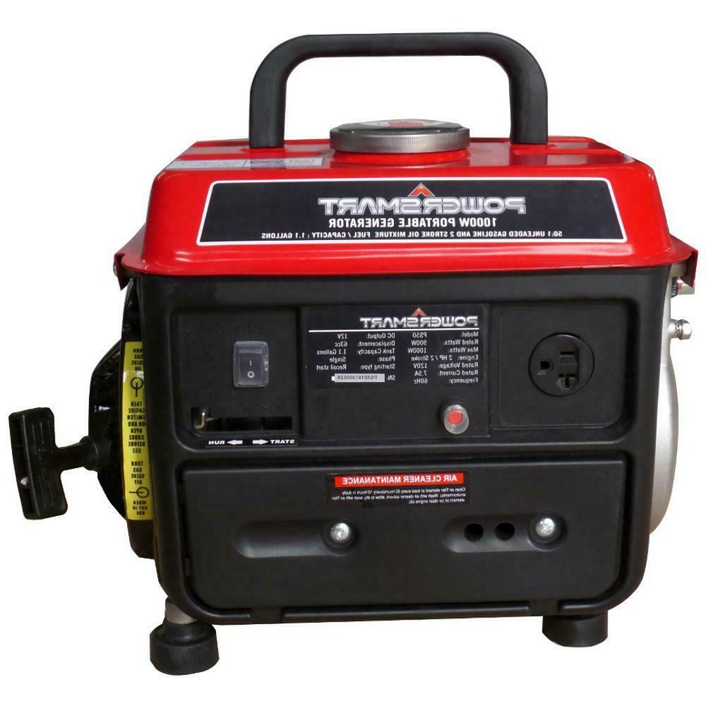900-Watt Gasoline Powered Manual Start Generator