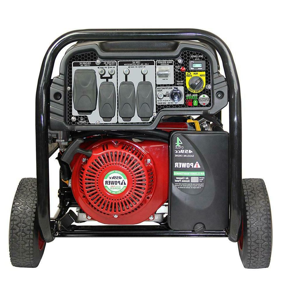 A-iPower 12,000 Fuel