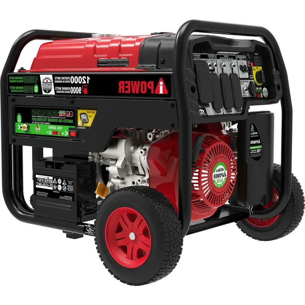 a ipower 12 000 watts dual fuel