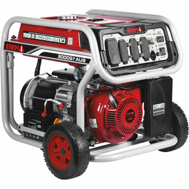 a ipower 12 000w gasoline powered electric