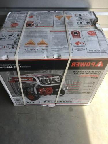 a ipower 12 000w gasoline powered portable