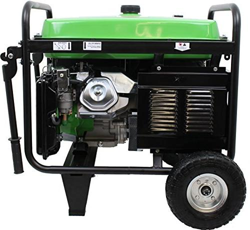 Lifan ES5700E Gas Powered Generator with and Recoil Start, 5700W