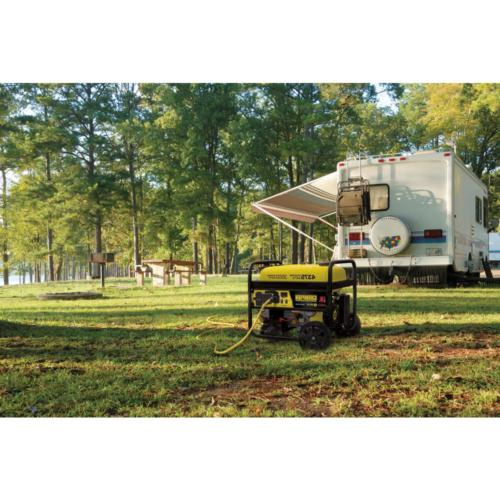 Portable 3500-Watt Powered RV w/ Wireless Remote Start
