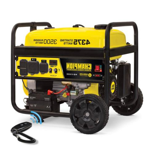 Portable Generator 3500-Watt Powered RV Wireless