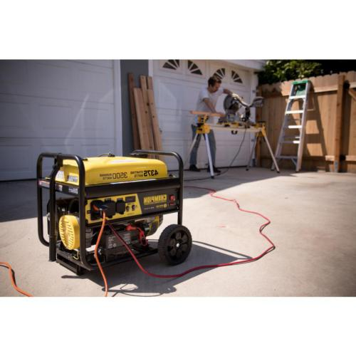 portable generator 3500 watt gasoline powered rv