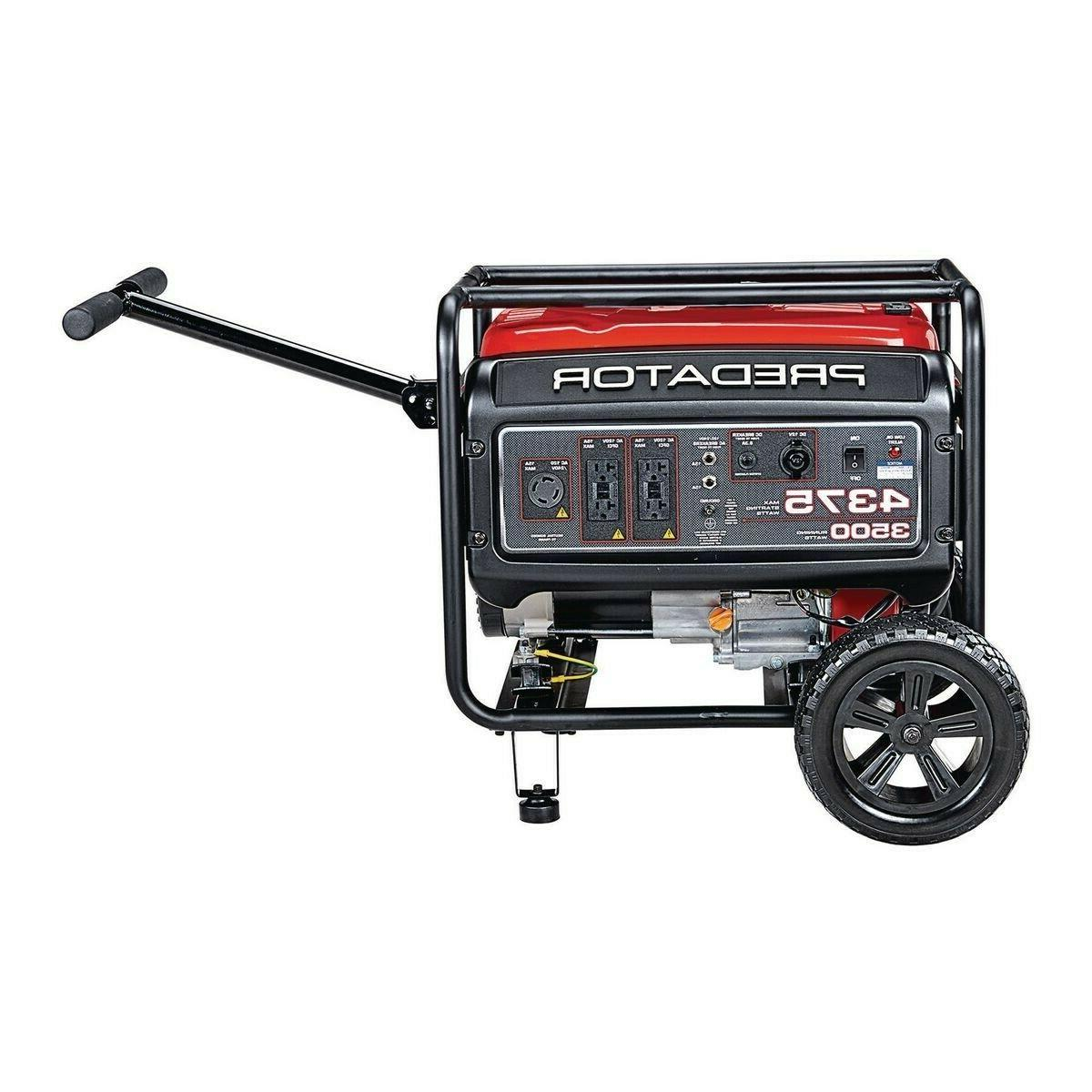 PREDATOR Watt Starting Life Gas Powered Generator
