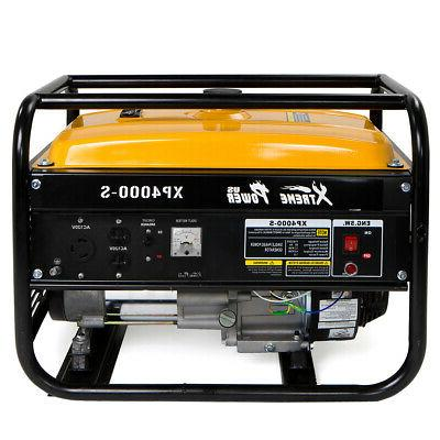 xtrempowerus 4000 portable gas generator engine 7hp