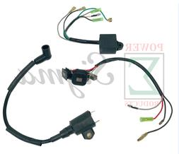 Magneto CDI Ignition Coil Kit For Yamaha ET650 ET950 2-Cycle