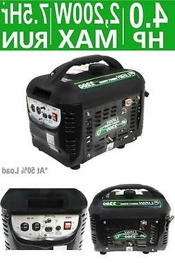 Portable Generator Gasoline Powered Energy Storm 2200/1800-W